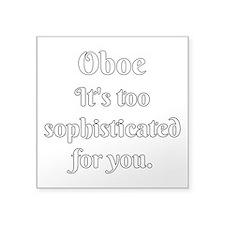 Oboe Attitude Sticker