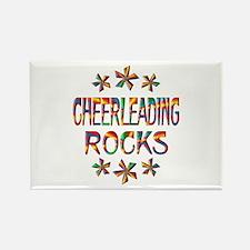 Cheerleading Rocks Rectangle Magnet