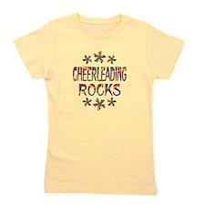 Cheerleading Rocks Girl's Tee