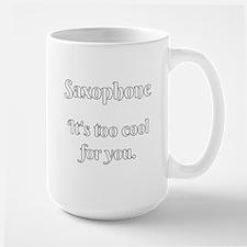 Saxophone Attitude Mugs