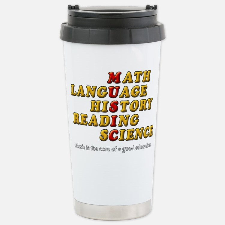 Music Education Travel Mug