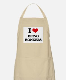 I Love Being Bonkers Apron