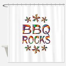 BBQ Rocks Shower Curtain