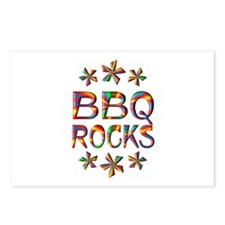 BBQ Rocks Postcards (Package of 8)