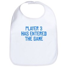 Player 3 Has Entered The Game Bib