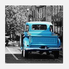 Vintage Chevrolet Truck Tile Coaster