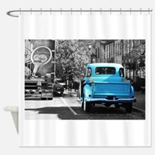 Vintage Chevrolet Truck Shower Curtain
