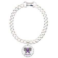 Sjogrens Syndrome Aware Charm Bracelet, One Charm