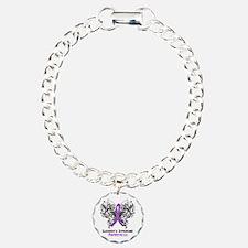 Sjogrens Syndrome Aware Charm Bracelet, One Charm