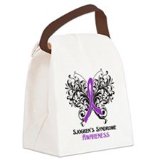 Sjogrens Syndrome Awareness Canvas Lunch Bag