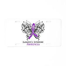 Sjogrens Syndrome Awarenes Aluminum License Plate