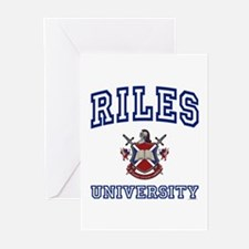 RILES University Greeting Cards (Pk of 10)