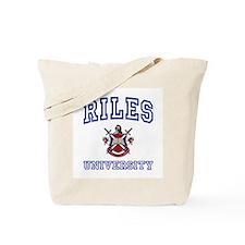 RILES University Tote Bag