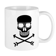 Hipster Pirate Mugs