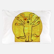 Dog Vinci Pillow Case