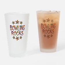 Bowling Rocks Drinking Glass