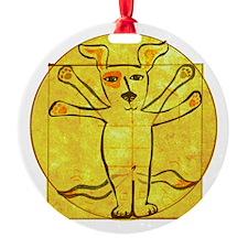 Dog Vinci Ornament