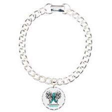 Scleroderma Awareness Charm Bracelet, One Charm