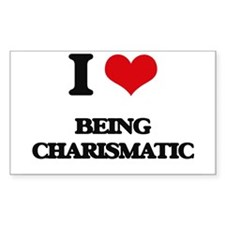 I love Being Charismatic Decal