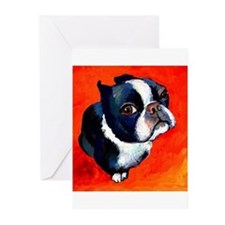 Cute Boston Greeting Cards (Pk of 20)