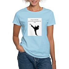 Cute Girls karate T-Shirt