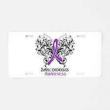 Sarcoidosis Awareness Aluminum License Plate