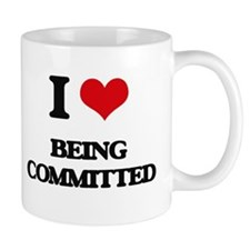 I love Being Committed Mugs