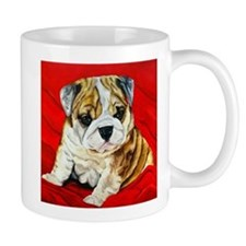 Unique Bulldog painting Mug