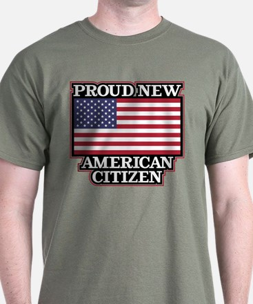 Proud New American Citizen T-Shirt