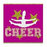 Cheerleader Drink Coasters