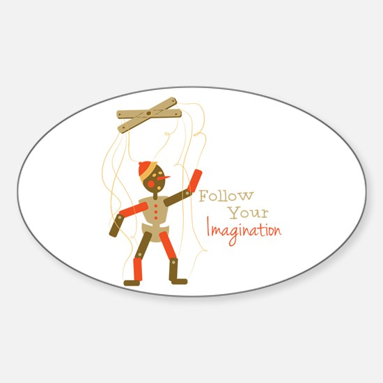 Follow Imagination Decal