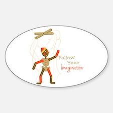 Follow Imagination Stickers