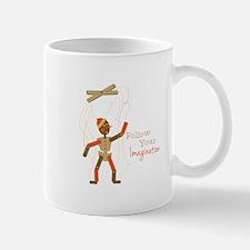 Follow Imagination Mugs