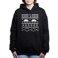 Retro Ugly Christmas Swe Women's Hooded Sweatshirt