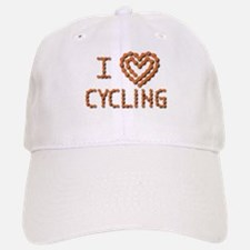 LOVE CYCLING Baseball Baseball Cap