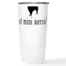 Cute Miniature australian shepherd breed Travel Mug