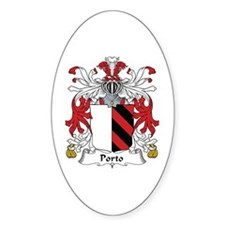 Porto Oval Decal