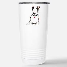 Cute Brown and white english bulldog Travel Mug