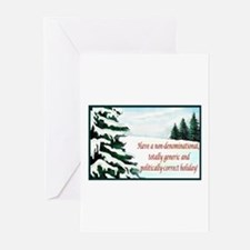 Cute Funny political christmas Greeting Cards (Pk of 20)