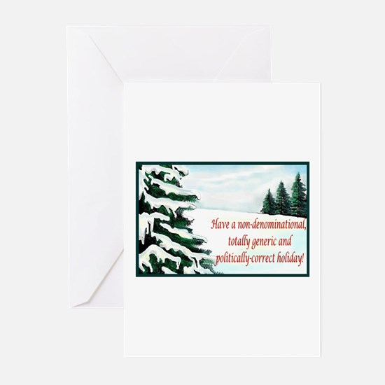 Cute Politically correct holiday Greeting Cards (Pk of 20)