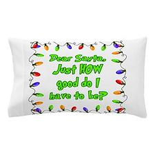 Letter to Santa Pillow Case