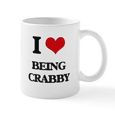 I love Being Crabby Mugs