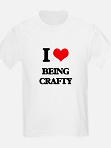 I love Being Crafty T-Shirt