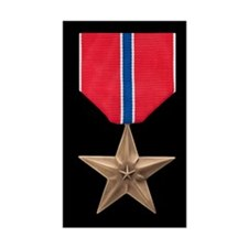 Bronze Star Medal Decal