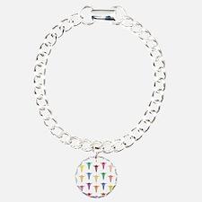 Colorful Caduceus Bracelet