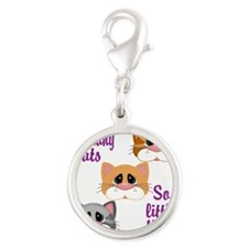So Many Cats So Little Time Charms
