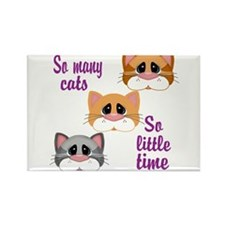 So Many Cats So Little Time Magnets