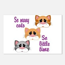 So Many Cats So Little Time Postcards (Package of