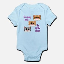 So Many Cats So Little Time Body Suit