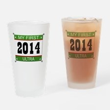 My First Ultra - 2014 Drinking Glass
